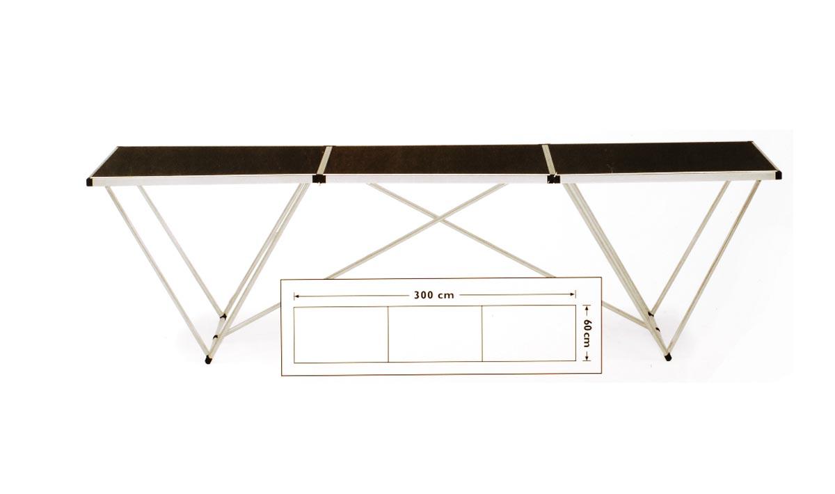 Mesa empapelar aluminio