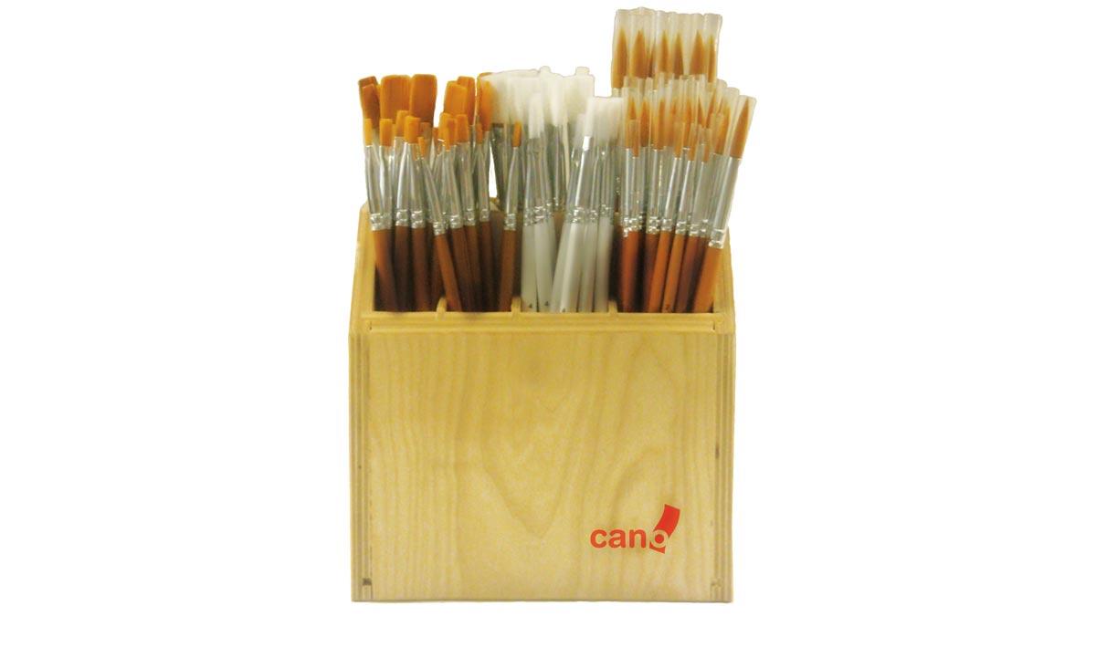 expositor de madera hobby