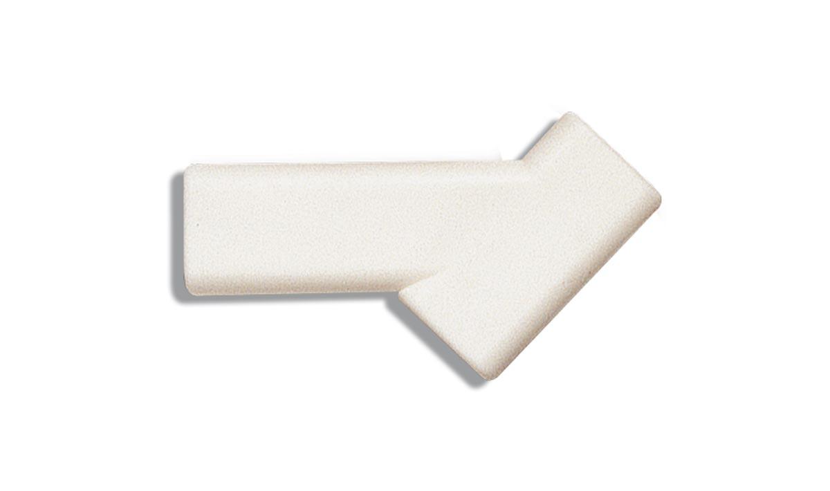 Adaptador plástico brocha