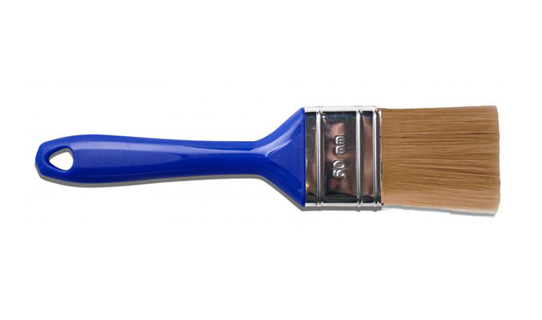 Paletina Azul Síntesis pintar pintura brocha