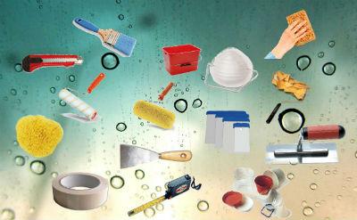 herramientas básicas para pintar