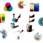como mezclar colores para pintar